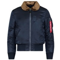 Alpha Industries  B-15 SLIM FIT Replica Blue