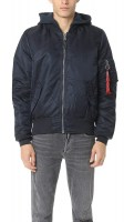 Alpha Industries Mens MA1 Natus Replica Blue