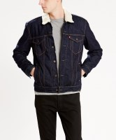 Levis THE SHERPA TRUCKER JACKET  Juniper 01
