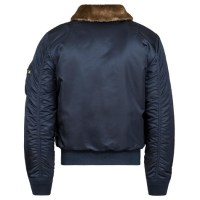 Alpha Industries  B-15 SLIM FIT Replica Blue2
