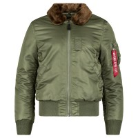 Alpha Industries  B-15 SLIM FIT Sage-Brown