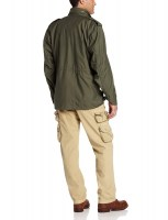 Alpha Industries Mens M-65 Olive Green2