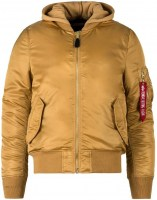 Alpha Industries Mens MA1 Natus Camel