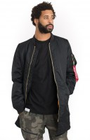 Alpha Industries, MA-1 Long - Black 1