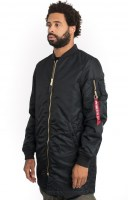 Alpha Industries, MA-1 Long - Black2