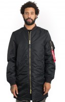 Alpha Industries, MA-1 Long - Black3