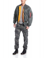 AlphaIndustries MA1  Gunmetal