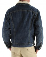 Lee MENS SHERPA LINED DENIM JACKET 2