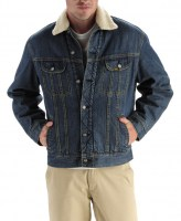 Lee MENS SHERPA LINED DENIM JACKET 4