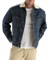 Lee MENS SHERPA LINED DENIM JACKET