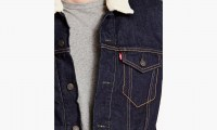Levis THE SHERPA TRUCKER JACKET  Juniper 3